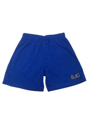 St John's College PE shorts