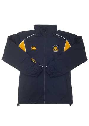 St John's College Ripstop Jacket Navy/Gold/White